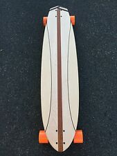 Longboard made of Solid Wood - Butterfly - 42x10 (wood weave tail)