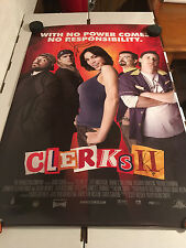Clerks 2 Movie 27x40 Poster : SIGNED BY Both KEVIN SMITH & JASON MEWES