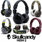 New Skullcandy Hesh 2 2.0 Stereo Headset Supreme Sound Mic Black White