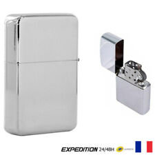 BRIQUET ESSENCE COLLECTION STYLE ZIPPO COULEUR ARGENT