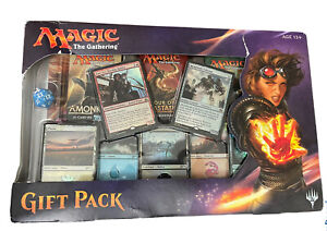 2017 Magic the Gathering MTG Gift Pack Sealed In Hand Blue Dice Minor Box Damage
