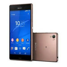 "Oro 5.2"" Sony Ericsson Xperia Z3 D6603 4G LTE 20.7MP 16GB Libre Telefono Movil"