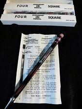 Vintage Eversharp Square 4 Mechanical Advertising Pencils - New Unused Box & Ins