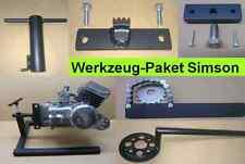 Simson Werkzeug Paket, Spezialwerkzeug, Motorständer + 5 Werkzeuge S51, S70 Kr51