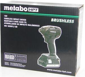 Metabo WH18DBFL2 QB 18V Cordless Lithium-Ion Brushless Impact Kit New In Box.