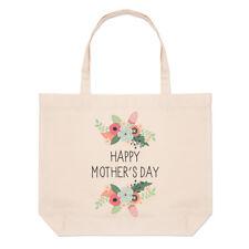 Happy fête des mères fleurs Grand Plage SAC FOURRE-TOUT - Maman drôle épaule