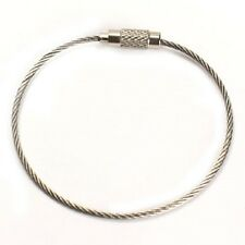 5 Stainless Steel Cable Geocache Secure Tree Friendly Hanger Very Strong 15 cm