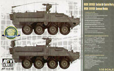 AFV Club M1130 Stryker Command Vehicle CV TACP Tactical Air Control Party 1/35th