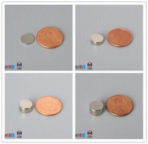 """N52 9.5mm 3/8""""dia   Rare Earth Neodymium Disc magnets"""