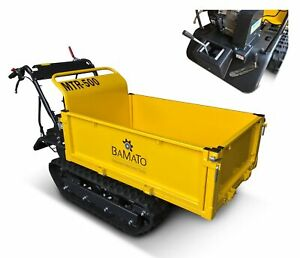 BAMATO Mini Raupendumper MTR-500 Motorschubkarre Schubkarre Dumper