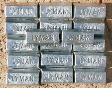 10+ lbs Reclaimed Soft Clean  Range Lead Ingots for reloading and fishing