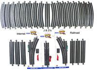 HO Scale Model Railroad Train Layout Bachmann Steel EZ Super Track Package Deal