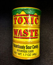 Toxic Waste Hazardously Sour Candy 48g Drum