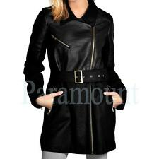 Brave Soul Women's Polyester Hip Length Zip Coats & Jackets