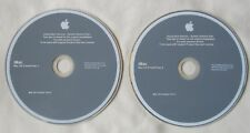 Apple iMac OS X 10.6 Install Discs DVD Snow Leopard (v6752)