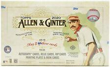 COLORADO ROCKIES 2020 Topps Allen & Ginter 1/3 Hobby Case Break (4 Boxes)