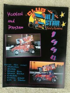 1994 All Star Sprint Car Yearbook Program