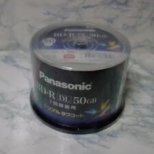 Panasonic 4X Blu-ray Dual-Layer 50GB BD-R Spindle (50 Packs)