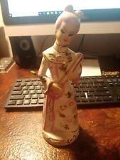 Vintage 1930's China Doll Hand Painted Ceramic Porcelain Figurine