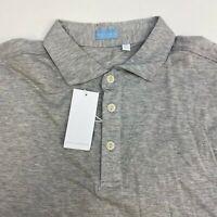 NWT Culturata Polo Shirt Mens XL Gray Short Sleeve Contemporary Fit 100% Cotton