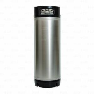5 Gallon Ball Lock Corny Keg for Home Brewing, Beer, Coffee, or Kombucha