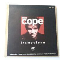 "Julian Cope - Trampolene - 7"" Vinyl Single Numbered Ltd + Poster EX+/NM"