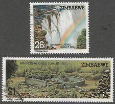 Used Single Zimbabwean Stamps (1965-Now)