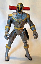 Mighty Morphin Power Rangers Lightspeed Rescue Mega Battle Titanium Ranger 1999