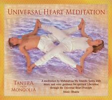 Tantra From Mongolia: Universal Heart Meditation. New / Sealed CD.