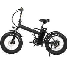 2020 1000w Fat Tire Folding 20in Electric Bicycle Ebike New
