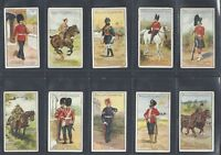 PHILLIPS - TYPES OF BRITISH SOLDIERS - FULL SET OF 25 CARDS