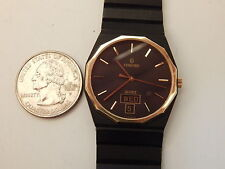 GENUINE CONCORD SOLID 18K / STEEL MARINER SG BLACK PVD DAY DATE 32MM