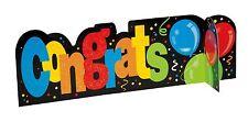 Congratulations 3d table centerpeice Table Centrepiece Banner