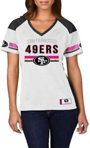 NFL Women's Shirt San Francisco 49ers Draft Me White Women's Girls Ladies Jersey