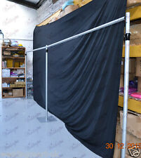 6Mx3M Telescopic Wedding Backdrop Stand, Pipe and Drape System