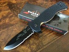 Emerson Knife Sheepdog Rangemaster Spearpoint BTS Black Serrated Edge