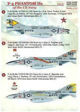 Print Scale Decals 1/72 MCDONNELL DOUGLAS F-4 PHANTOM II U.S. Navy Part 2
