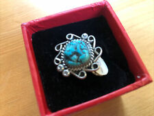 Size 6 Nwt (.4g) 4�⃣ Turquoise in Sterling Authentic Navajo Ring
