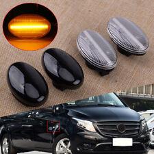 2pcs LED Side Indicator Marker Light Fit for Mercedes Benz Smart W450 W452