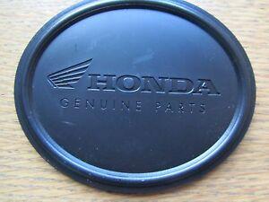GENUINE HONDA MOTORCYCLE PUCK BLACK ANTI SLIP
