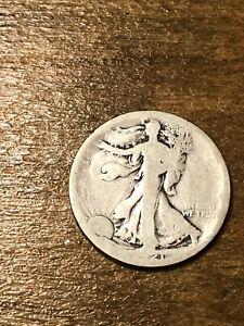 1921S Walking Liberty Half Dollar AG