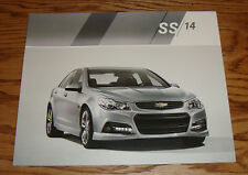 Original 2014 Chevrolet SS Sales Brochure 14 Chevy