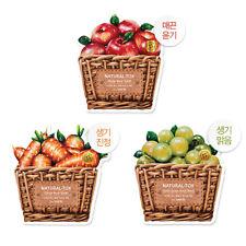 [the SAEM] Natural-tox Mask Sheet 20g * 3pcs (Apple + Green Grape +Carrot)
