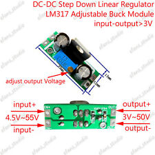 DC-DC 5-50V to 3.3V 5V 9V 12V 24V Buck Step Down Converter Volt Linear Regulator