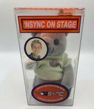 "NSYNC Lance Bass Plush Teddy Bear Collectible Limited Edition ""Rare Bear"""