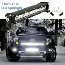 7inch 18W Spot LED Slim Flood Light Bar Work Lamp Driving Offroad SUV ATV Truck
