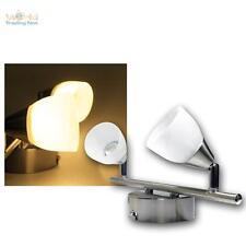 """Spotleuchte """"Venus"""" 2-flammig 2x3W LED warmweiß 230V, Deckenlampe Deckenleuchte"""