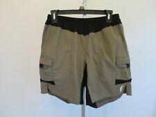 Men's Dark Khaki GoLite Performance Bike Shorts - Size Small
