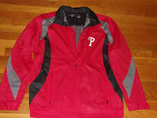 NEW ANTIGUA PHILADELPHIA PHILLIES FULL ZIP GOLF JACKET MENS LARGE