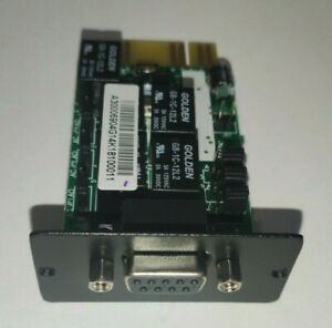 USV-Überwachungsmodul AS400 (G) Interface Card USV Monitoring Module RS232